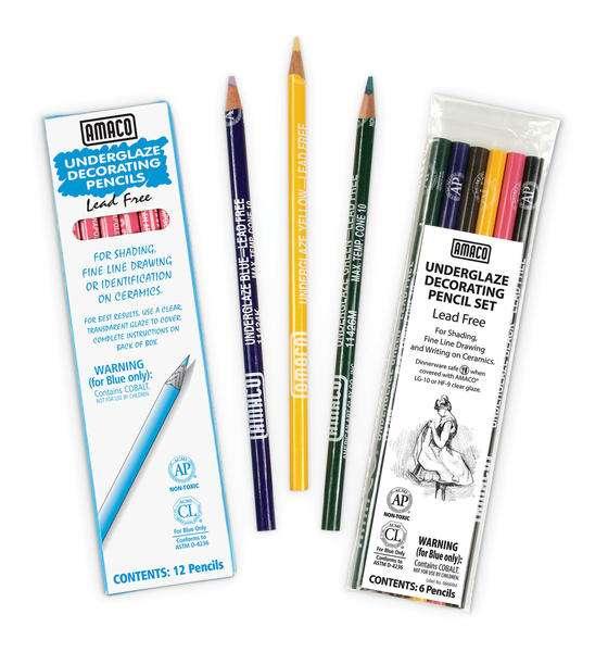 Under Glaze Pencils