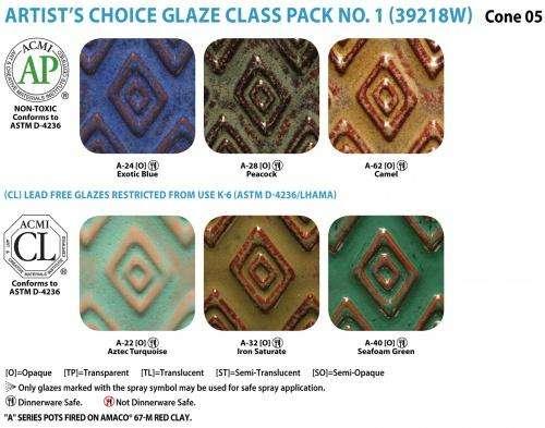 Peacock AMACO Artist/'s Choice Glazes Peacock Pint